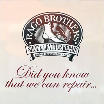 Rago Brothers Shoe Repair Kate Spade