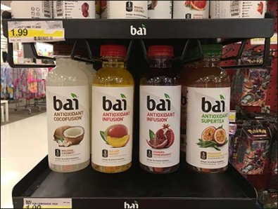 Bottle Neck Hang For Bai Beverages