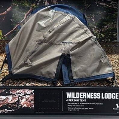 Shelf-Edge Camping Tent Miniatures 6