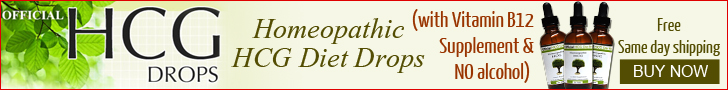 HCG Diet Drops Banner