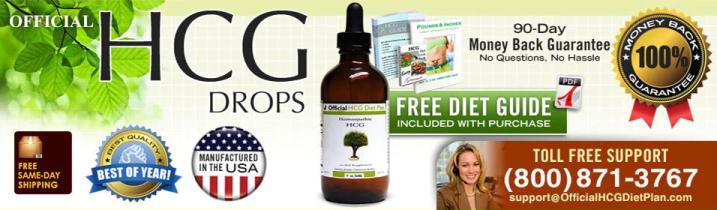 HCG Diet Drops 90 Days Money Back Guarantee