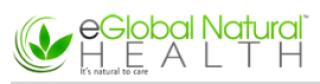 eGlobal Natural Health Logo