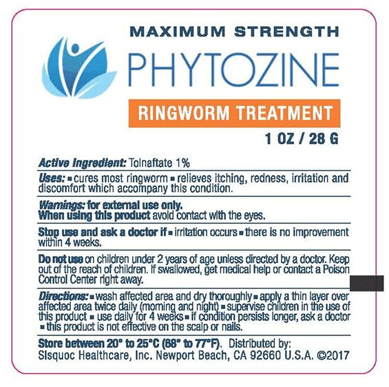 Phytozine Ingredients