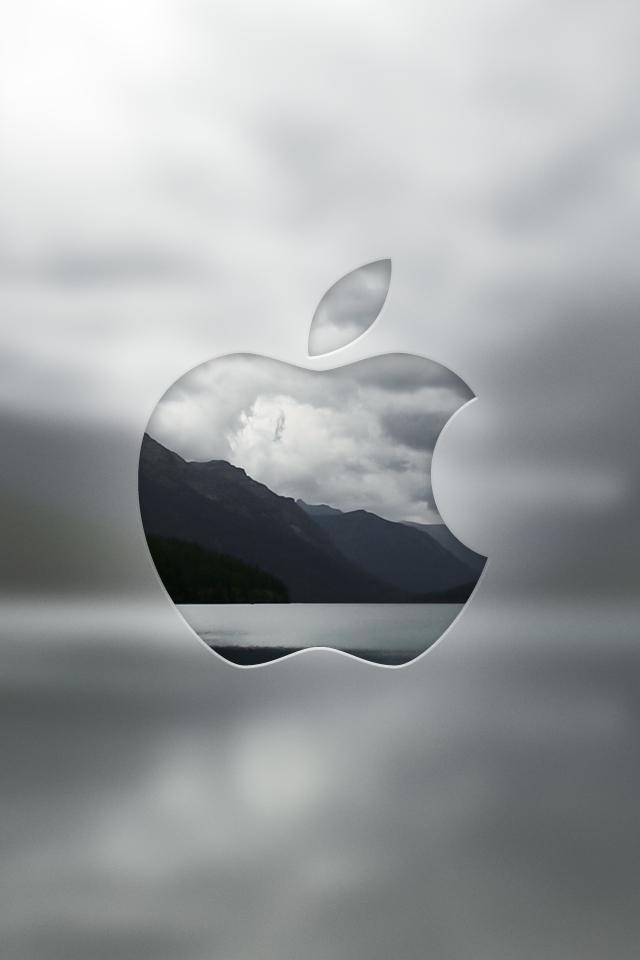 Retina wallpaper-apple