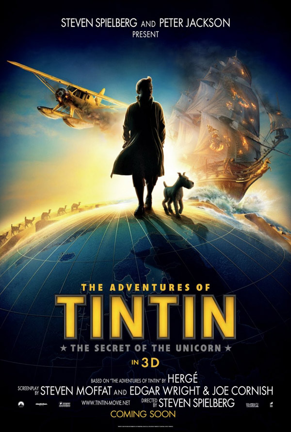 adventures-of-tintin-the-secret-of-the-unicorn-movie-poster hd