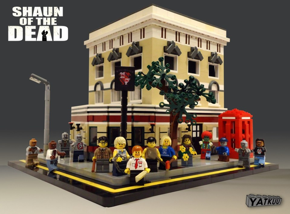 SHAUN OF THE DEAD Zombie LEGO