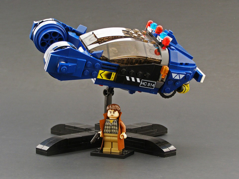 BLADE RUNNER Custom Made LEGO