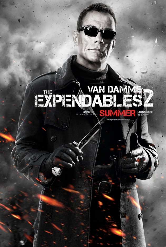Expendables 2 Character Posters