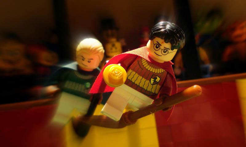 Movie Scenes Recreated With Lego