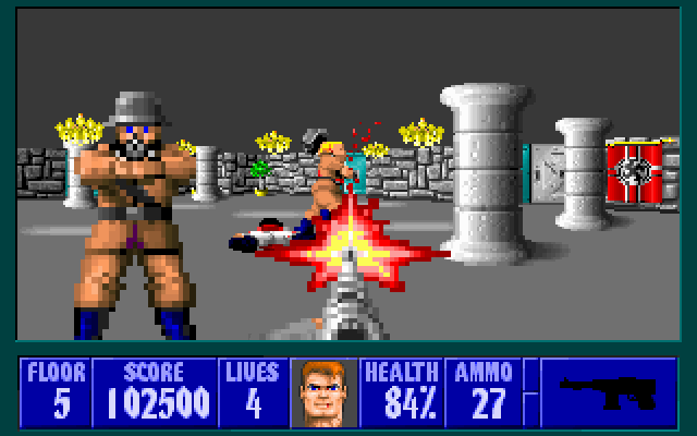 Free, Browser-Based 'Wolfenstein 3D' Released by Bethesda (3)