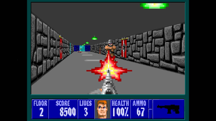 Free, Browser-Based 'Wolfenstein 3D' Released by Bethesda (2)