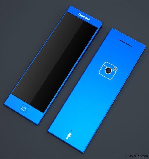 Blue Facebook Phone (3)