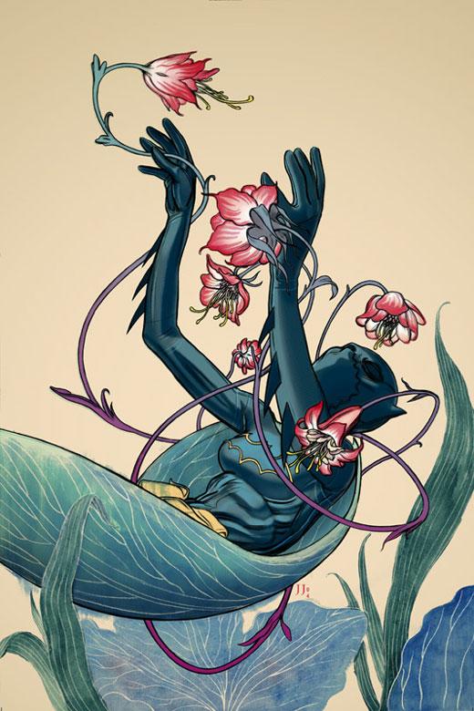 bat girl art (4)