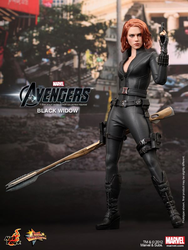 Black Widow collectible Action Figure