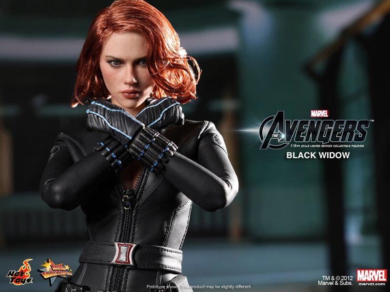 Hot Toys Black Widow Collectible Action Figure (14)