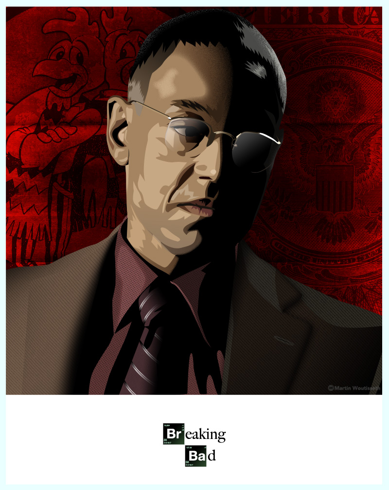 breaking bad character art (6)