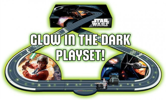 Star Wars Comes to Scalextric
