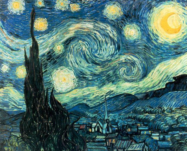 Starry Night Painting By Alex Ruiz (2)
