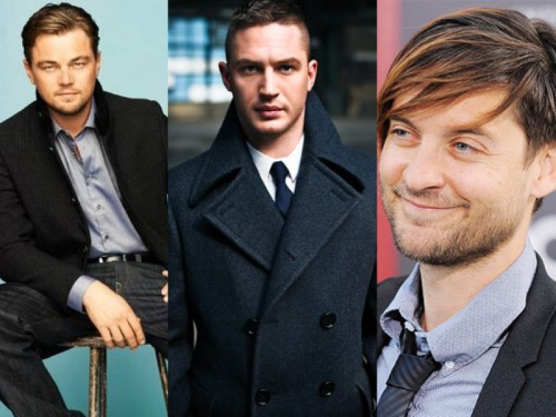 DiCaprio, Maguire, and Hardy