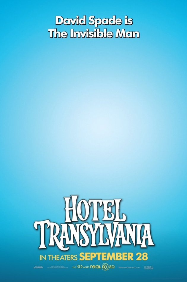 Stunning Character Posters For Hotel Transylvania. (2)