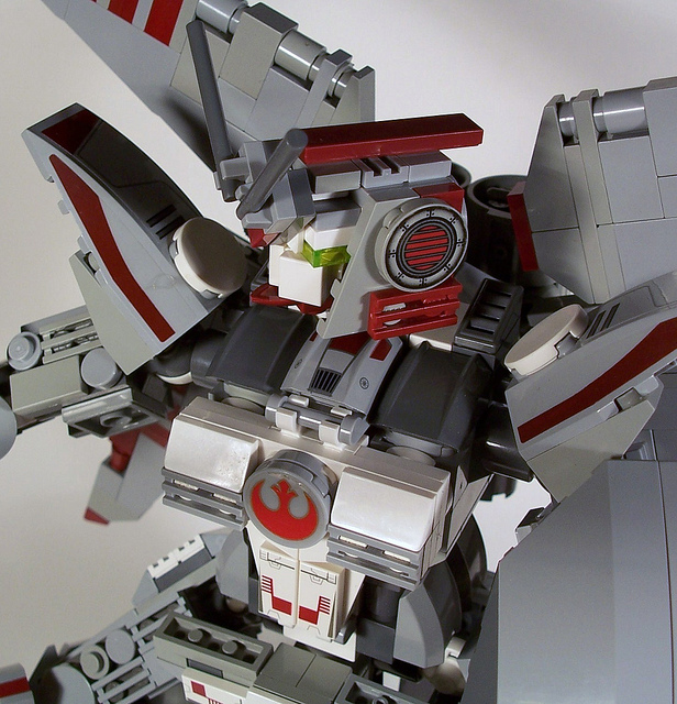 X-Wing Gundam – STAR WARS LEGO