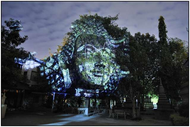 Haunting 3D Projections (3)