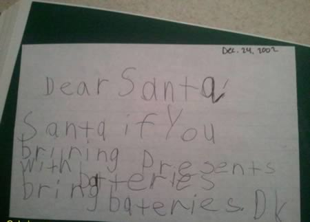 Letters to Santa (4)
