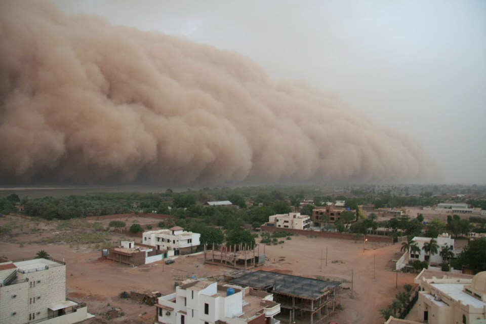 Ominous Photos of Haboobs (Dust Storms)