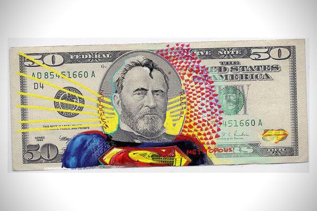 JUSTICE LEAGUE Dollar Art
