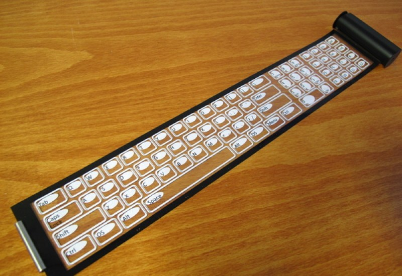 Transparent Rollable Keyboard