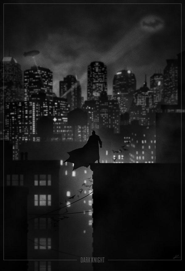 batman Noir Movie Posters