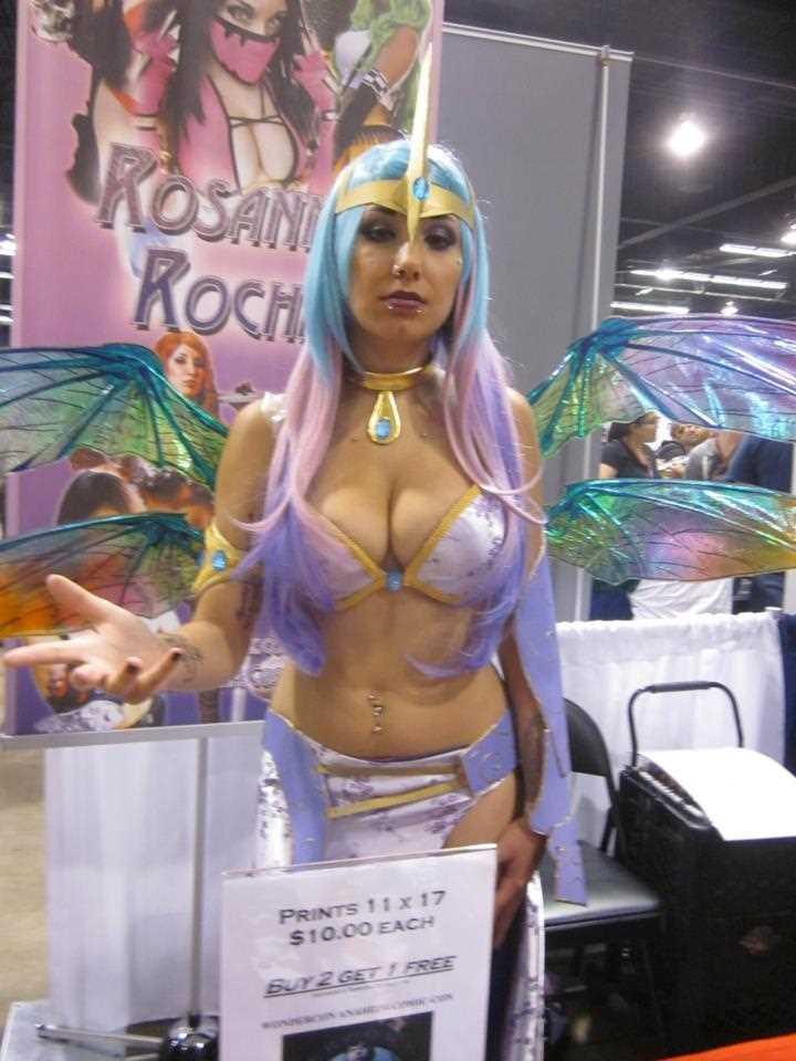 Sexy wondercon 2013 cosplays