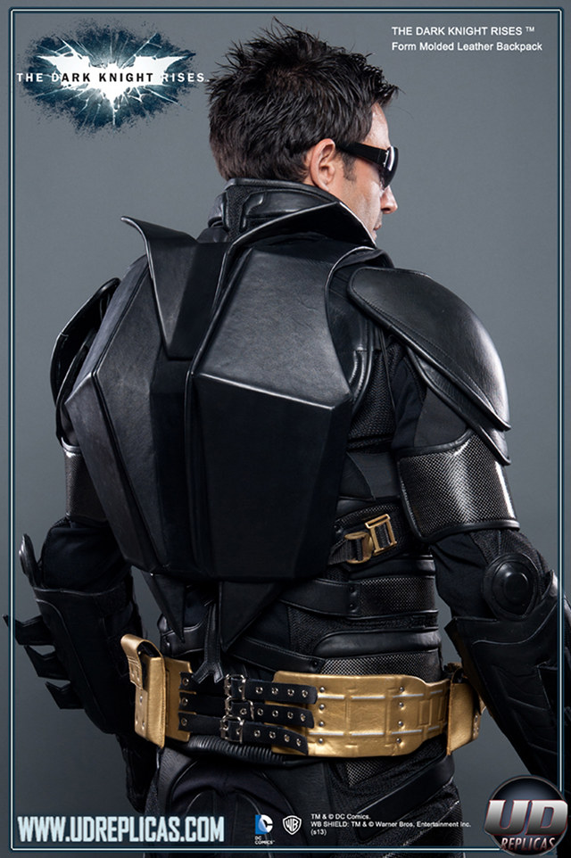 Leather Batman Backpack