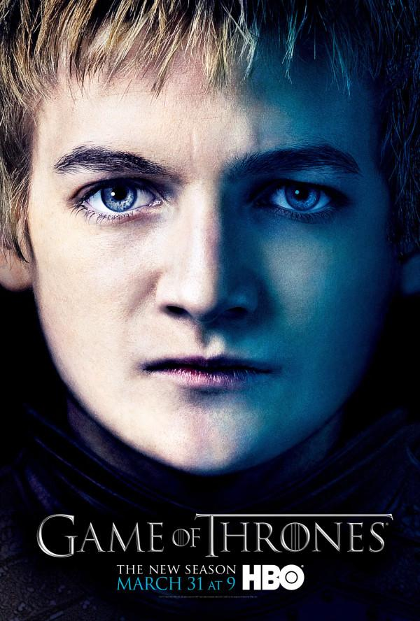 joffrey game of thrones season 3 poster