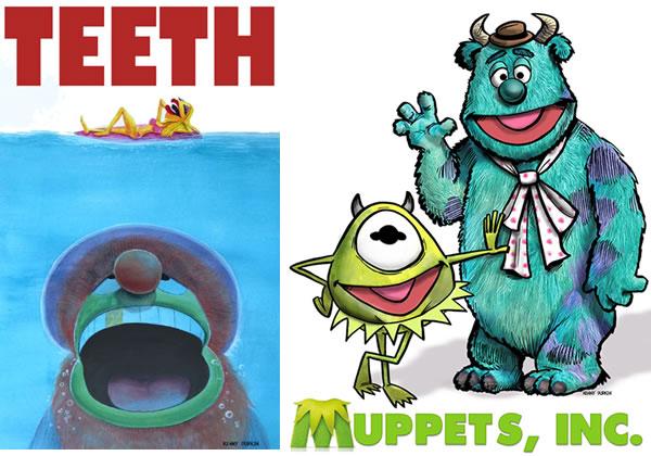 The Muppets Mash Up Artwork