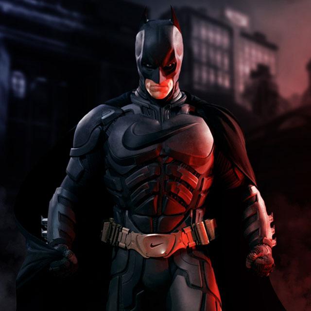 nike sponsored batman
