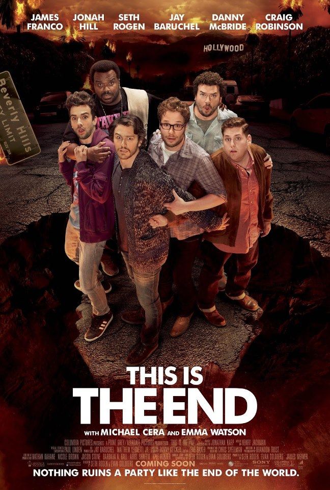 New Poster For THIS IS THE END