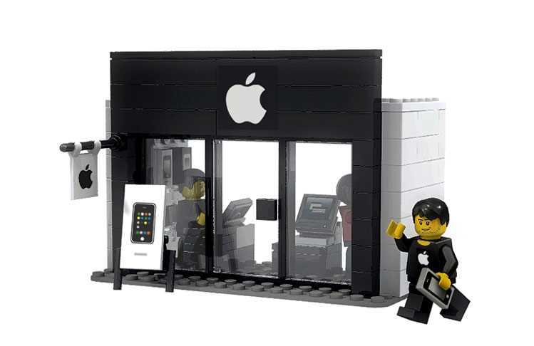 Lego istore apple
