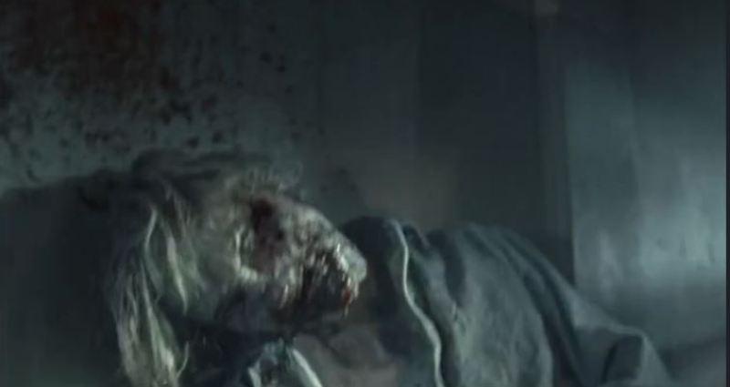 The walking dead zombie bashing
