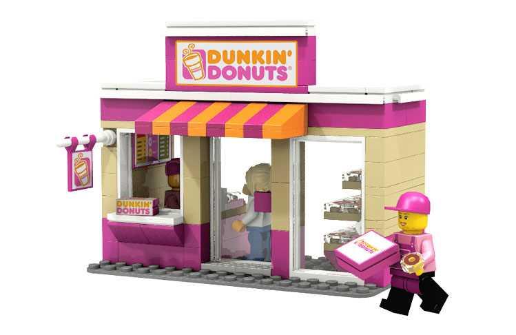Lego dunkin donuts
