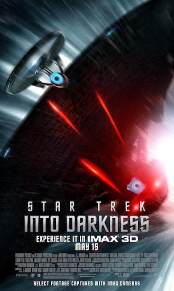 New Amazing Poster For STAR TREK INTO DARKNESS