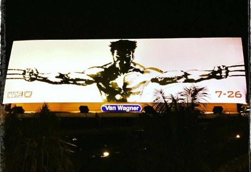 wolverine billboard