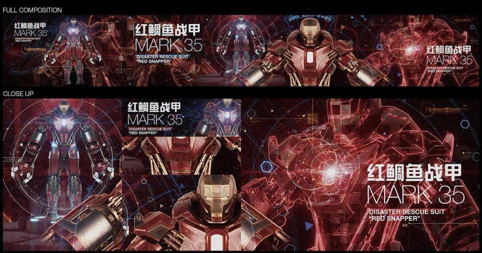 Armor For Iron Man 3 Revealed