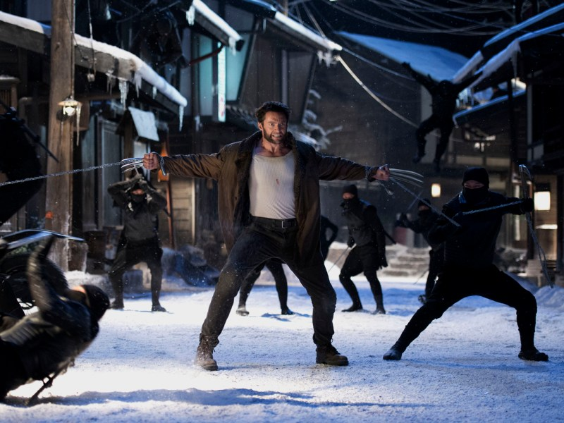 THE WOLVERINE Hi-Res New Photos