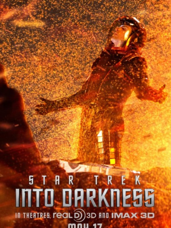 Amazing New Poster for 'Spock'-STAR TREK INTO DARKNESS