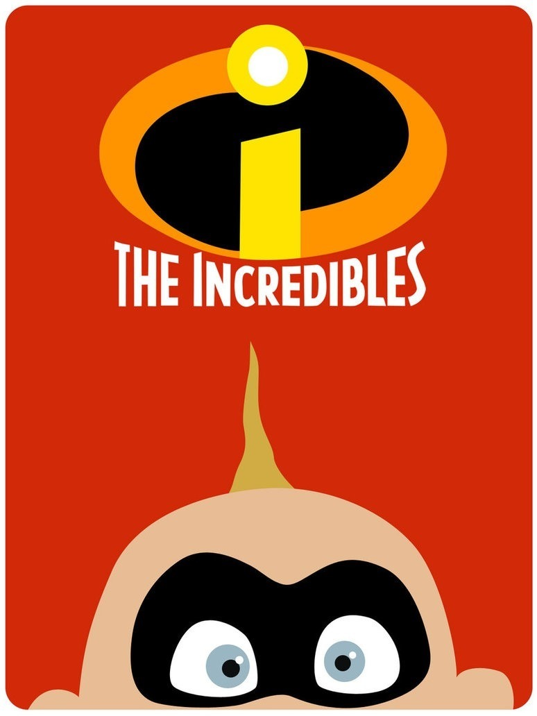 incredibles Minimalistic Movie Posters.