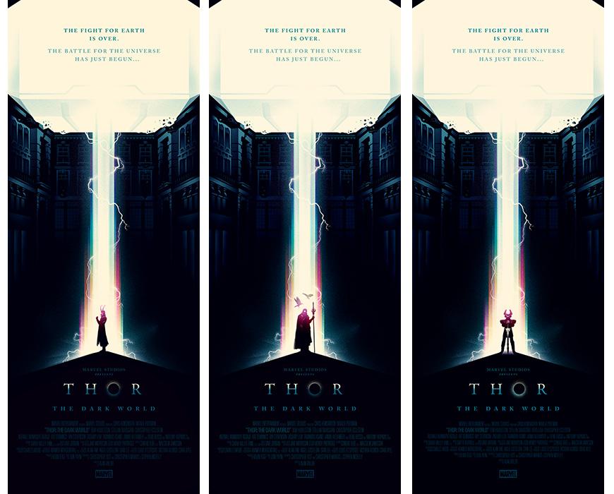 THOR: THE DARK WORLD Alternate Poster Art
