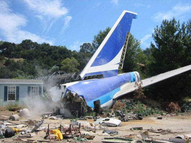 747 Used For The War Of The Worlds