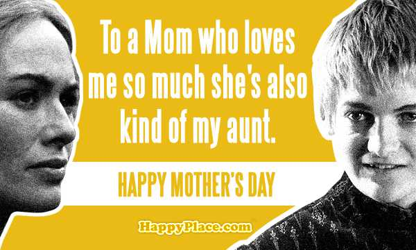 Game Of Thrones Mother's Day Cards