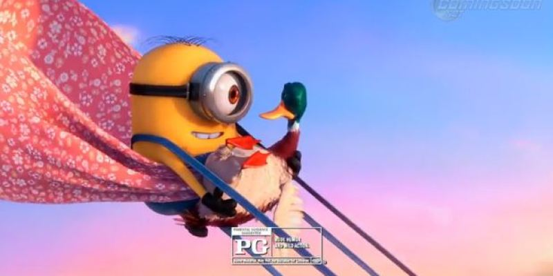 The First Clip From Despicable Me 2